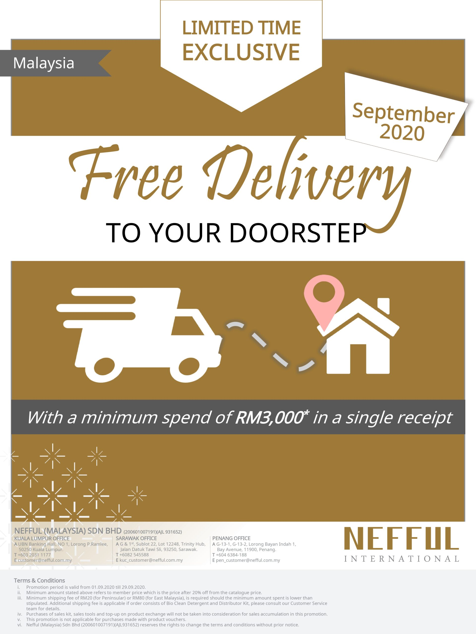 ENMY September Free Delivery DM